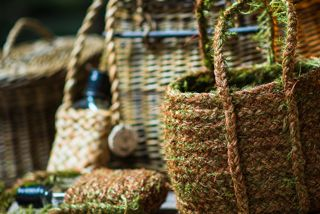 Highlands Hairmoss Basket, Sarah Paramor