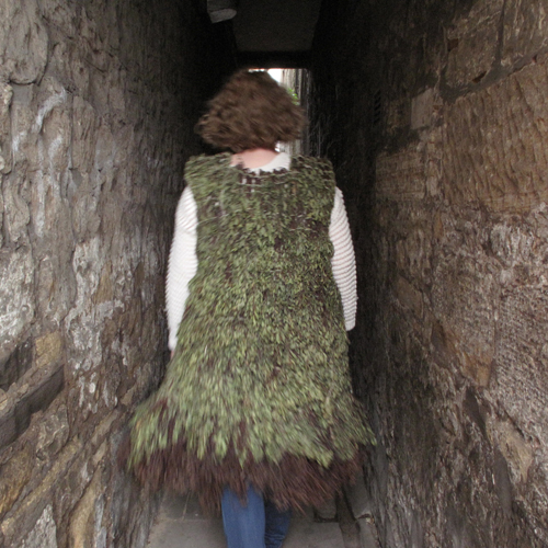 Coat made from Bog Myrtle