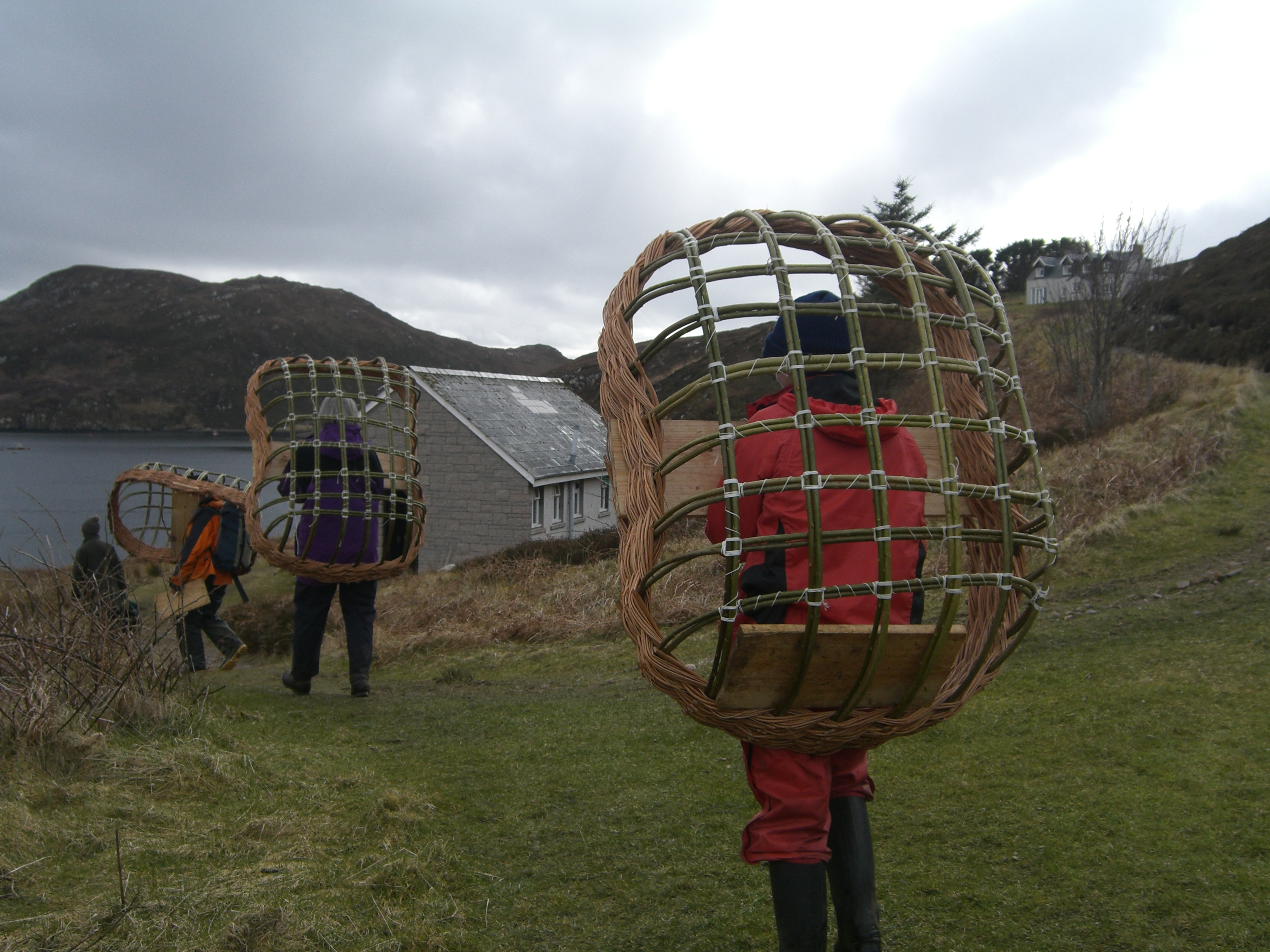 Coracle course: completed frameworks